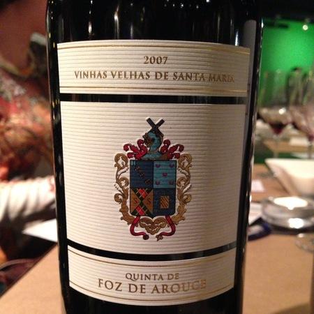 Quinta de Foz de Arouce Vinhas Velhas de Santa Maria Vinho Regional Beiras Baga Red Blend NV