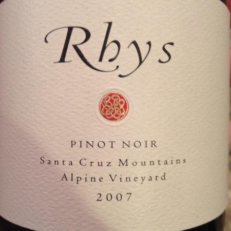 Rhys Vineyards Alpine Vineyard Pinot Noir 2007