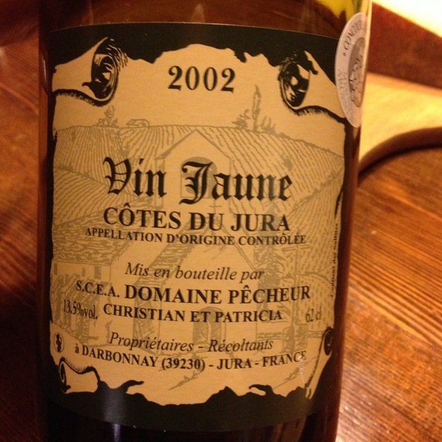 Côtes du Jura Vin Jaune 2009