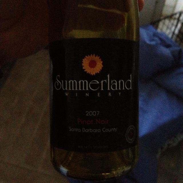 Santa Barbara County Pinot Noir NV