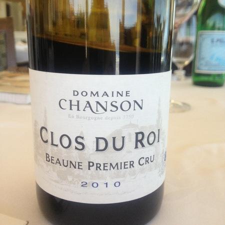 Domaine Chanson (Chanson Père et Fils) Clos du Roi Beaune 1er Cru Pinot Noir 2015 (750ml 6bottle)