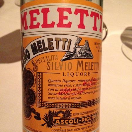 Meletti Siciliano Amaro Liqueur NV