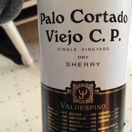 Valdespino Viejo C.P. Macharnudo Vineyard Palo Cortado Jerez-Xérès-Sherry Palomino Fino NV