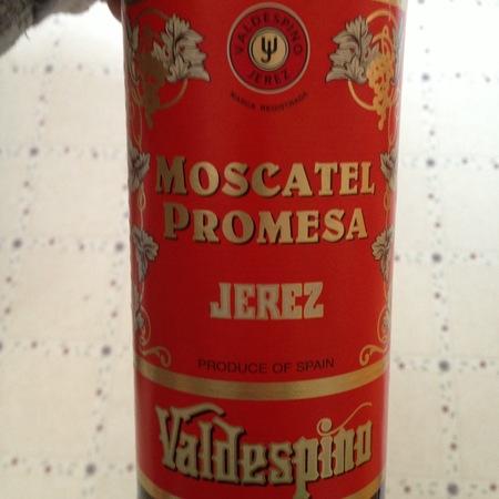 Valdespino Promesa Jerez Moscatel NV