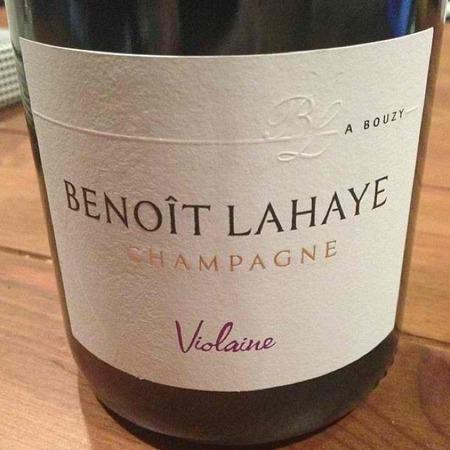 Benoît Lahaye Violaine Champagne Chardonnay Pinot Noir NV