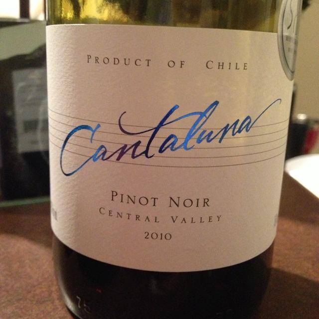 Cantaluna Central Valley Pinot Noir 2015