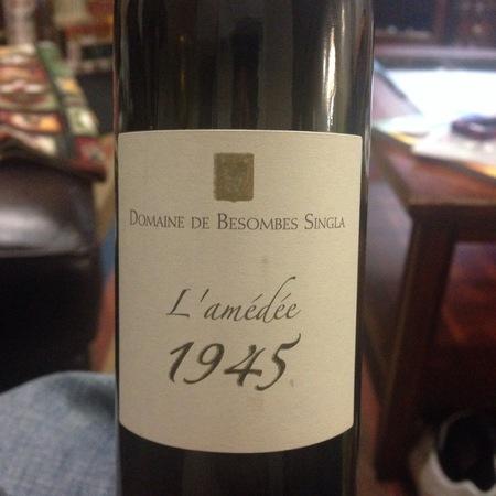 Domaine de Besombes L'amédée 1945 Rivesaltes Grenache Blend 1949 (375ml)