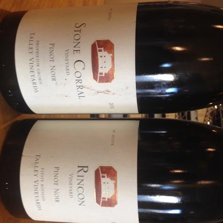 Talley Vineyards Stone Corral Vineyard Pinot Noir 2011