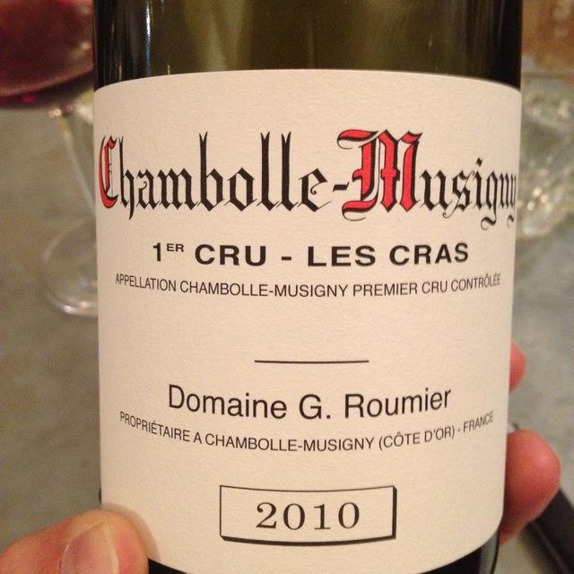 Les Cras Chambolle-Musigny 1er Cru Pinot Noir 2010 (1500ml)