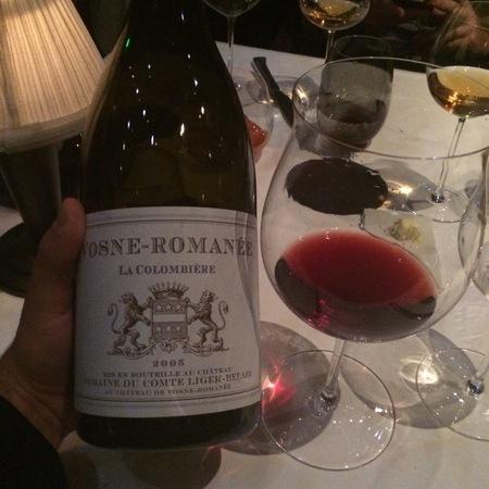 Domaine du Comte Liger-Belair La Colombiere Vosne-Romanée Pinot Noir 2005