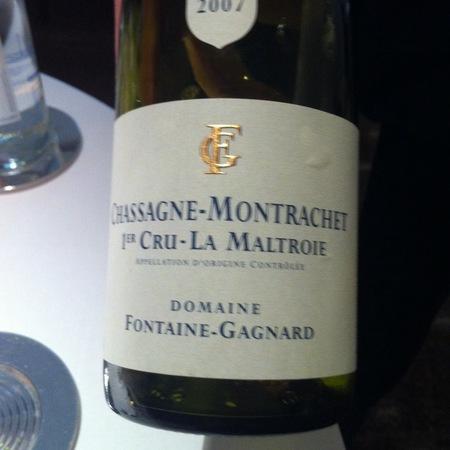 Domaine Fontaine-Gagnard La Maltroie Chassagne-Montrachet 1er Cru Chardonnay NV