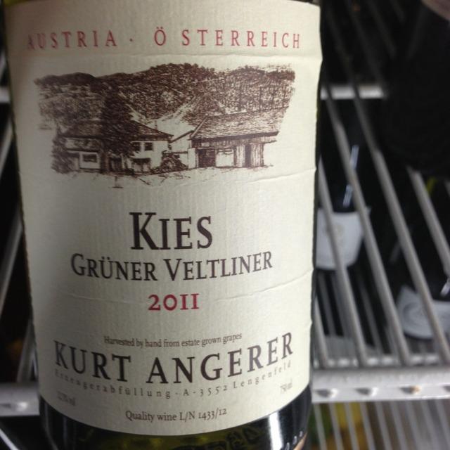 Kurt Angerer 'Kies' Kamptal Grüner Veltliner 2016