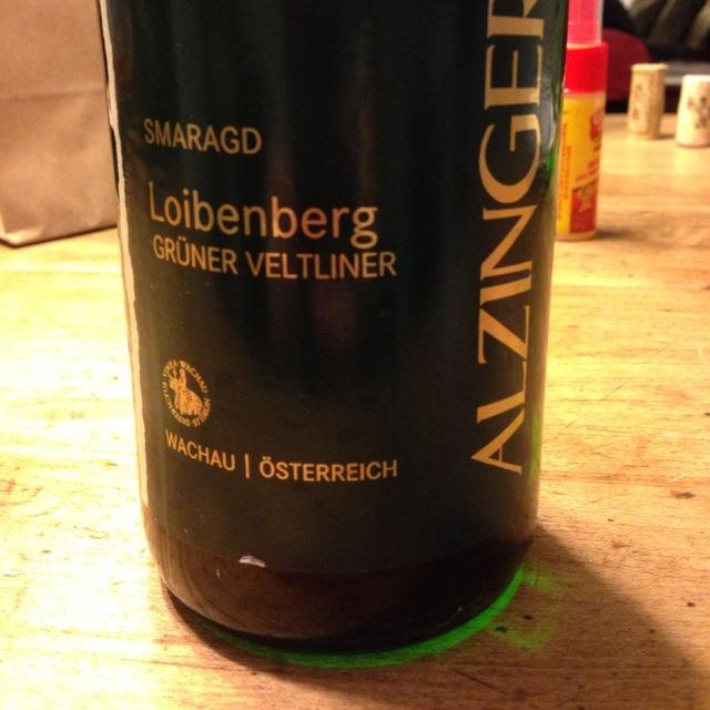 Alzinger Loibenberg Smaragd Grüner Veltliner 2015