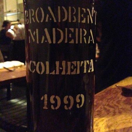 Broadbent Colheita Madeira Tinta Negra Mole 1999