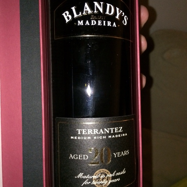 20 Years Old Special Reserve Madeira Terrantez  NV (500ml)