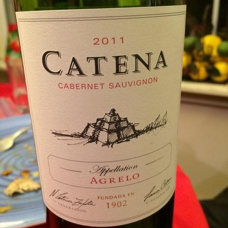 Bodega Catena Zapata Agrelo Cabernet Sauvignon 2014