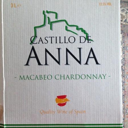 Castillo de Anna Macabeo Chardonnay 2015 (3000ml)
