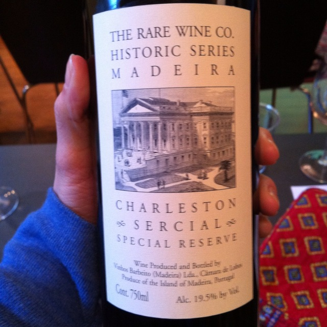 Vinhos Barbeito (Rare Wine Company Historic Series) Charleston Special Reserve Sercial Madeira NV