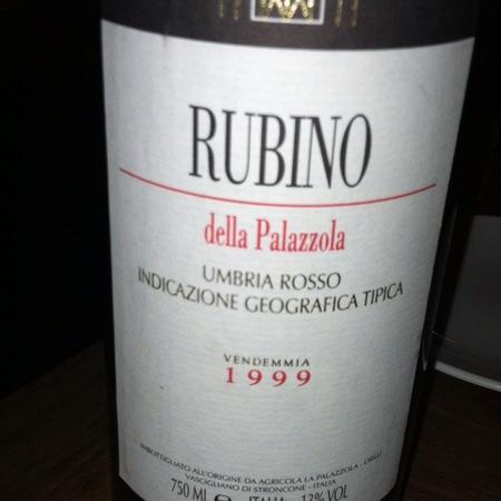 La Palazzola Rubino Umbria IGT Cabernet Sauvignon Blend 1994