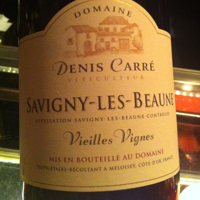 Vieilles Vignes Savigny-lès-Beaune Pinot Noir 2013 (750ml 12bottle)