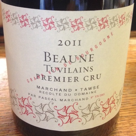Pascal Marchand Tuvilains Premier Cru Pinot Noir 2014