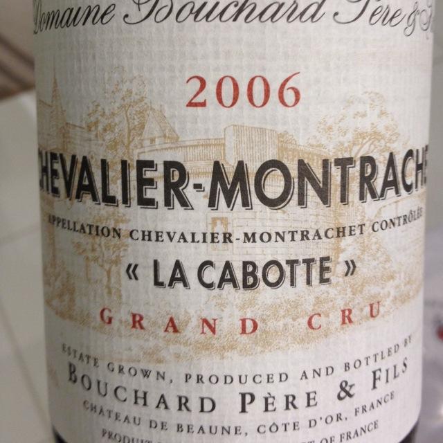 La Cabotte Chevalier-Montrachet Grand Cru Chardonnay 2006