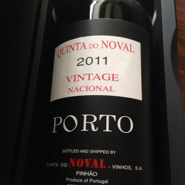 Vintage Port Nacional  2011