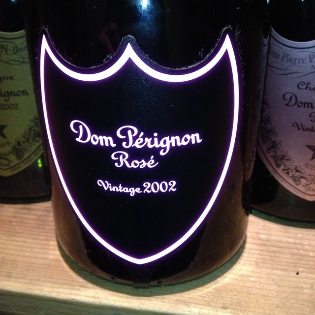 Dom Pérignon Brut Champagne Rosé Blend 2002