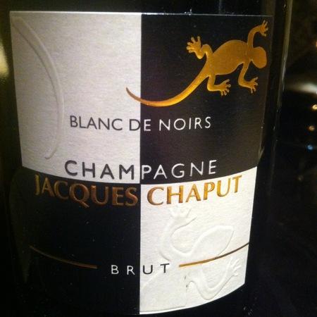 Jacques Chaput Blanc de Noirs Brut Champagne NV