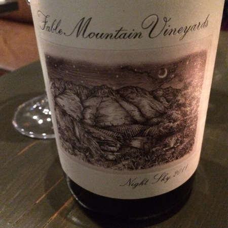 Sky Mountain Vineyards Night Sky Syrah Blend 2011