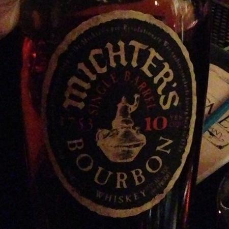 Michter's 10 Year Old Single Barrel Bourbon Whiskey NV