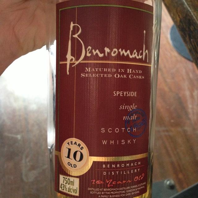 10 Years Old Speyside Single Malt Scotch Whiskey NV