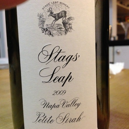 Stags' Leap Winery Napa Valley Petite Sirah 2009