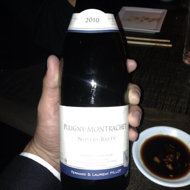 """""""Noyers Brets"""" Puligny-Montrachet Chardonnay 2012"""