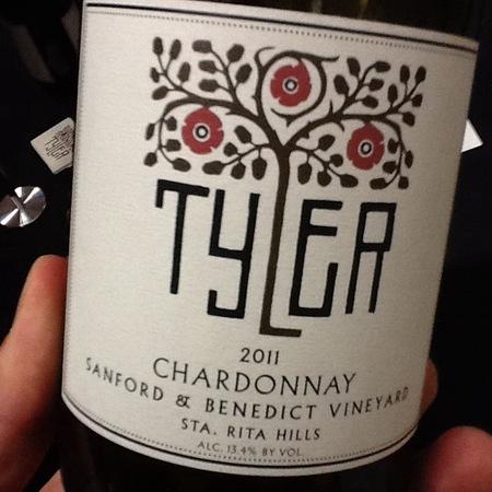 Tyler Sanford & Benedict Vineyard Chardonnay 2014