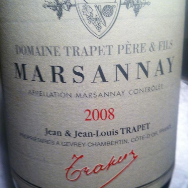 Marsannay Pinot Noir 2013