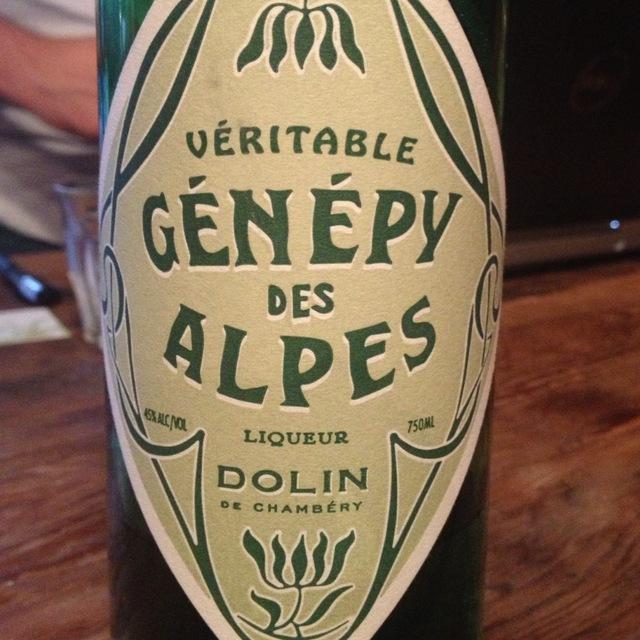 Maison Dolin & Cie Génépy Des Alpes Liqueur NV