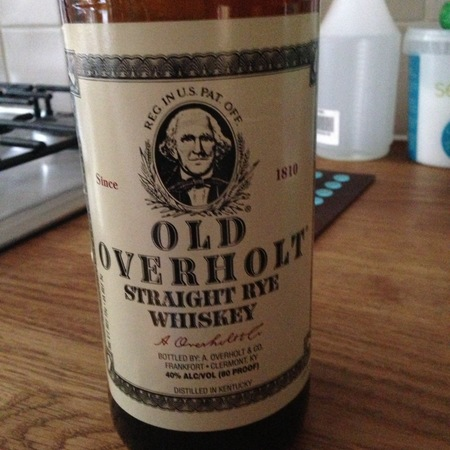A. Overholt & Co. Inc. Old Overholt Straight Rye Whiskey NV