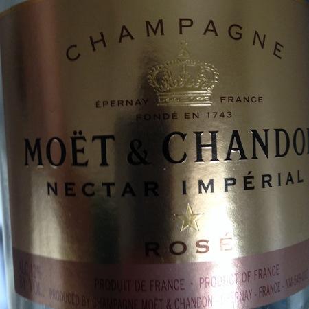 Moët & Chandon Nectar Impérial Rosé Champagne Blend NV