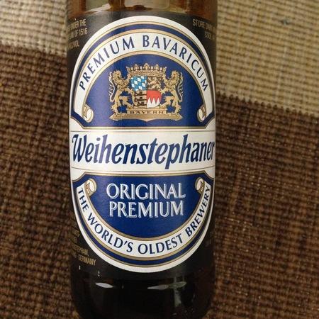 Bayerische Staatsbrauerei Weihenstephan (Weihenstephaner) Original Premium Lager NV (500ml)