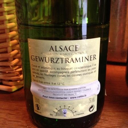 Joseph Cattin Alsace Gewürztraminer 2015