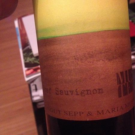 Sepp und Maria Muster  Graf Sauvignon Blanc 2013