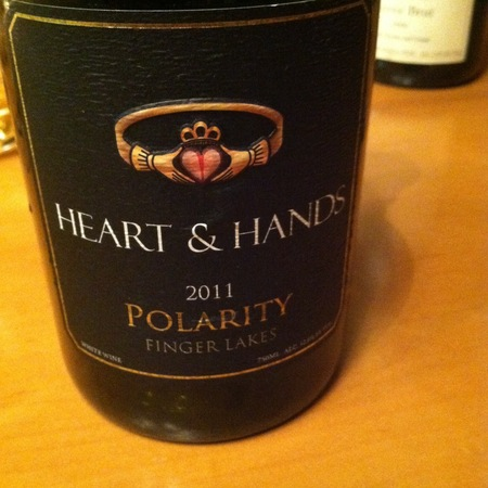 Heart & Hands Wine Company Polarity Finger Lakes Pinot Noir 2015
