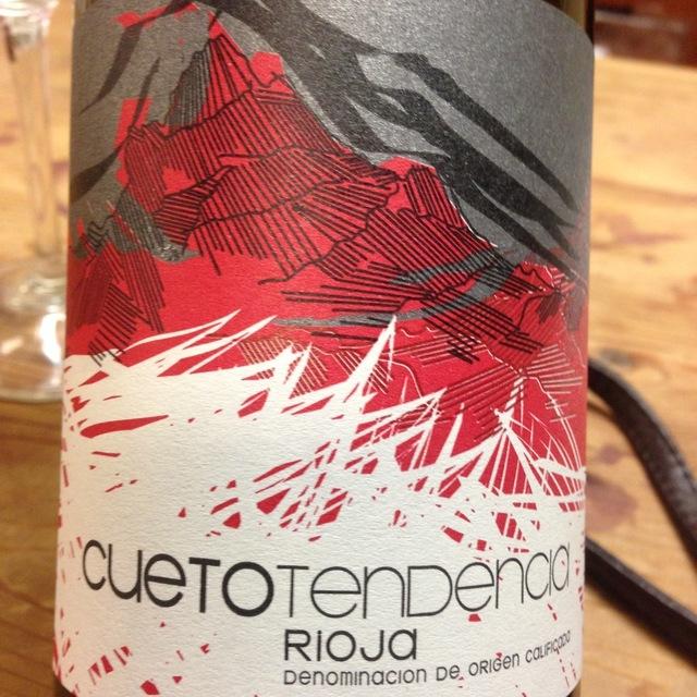 Cueto Tendencia Rioja Tempranillo 2012