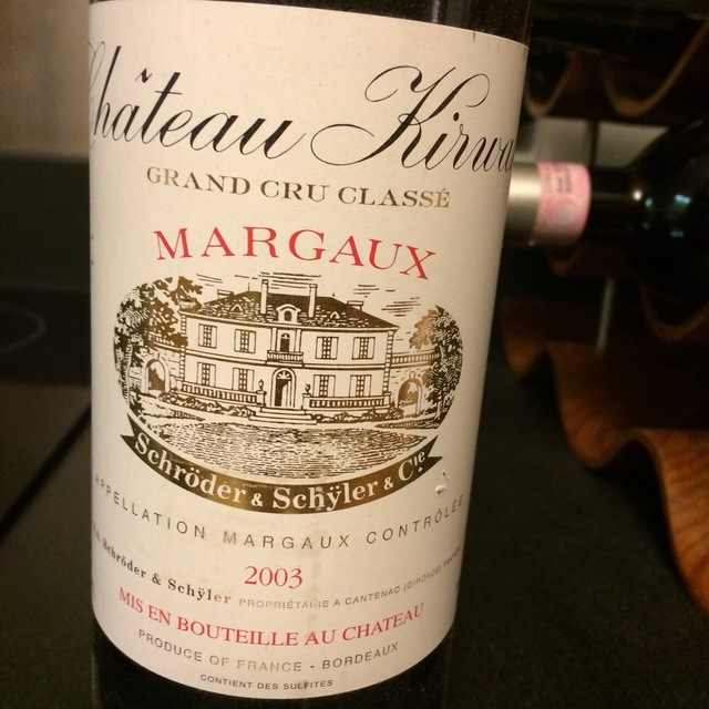 Margaux Red Bordeaux Blend 2003