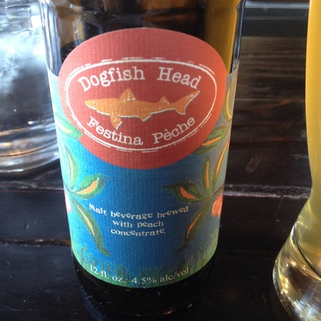 Dogfish Head Brewery Festina Pêche Berliner Weisse NV (12ml)