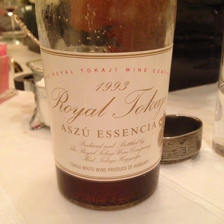 The Royal Tokaji Wine Company Aszú Essencia Tokaji Furmint Blend   1993 (500ml)