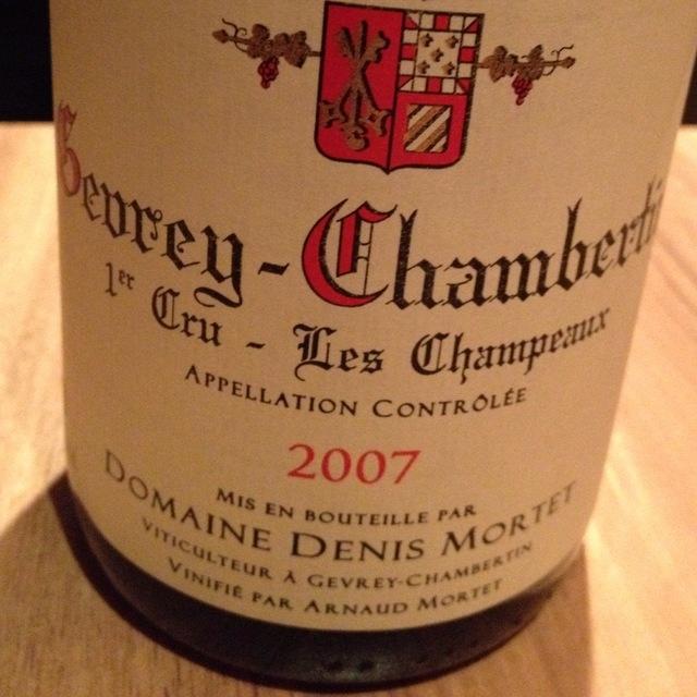 Les Champeaux Gevrey-Chambertin 1er Cru Pinot Noir 2013