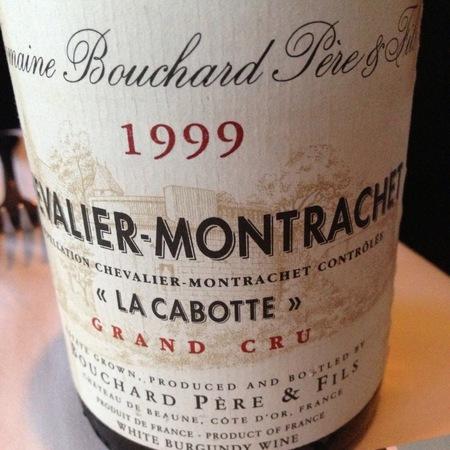 Bouchard Père et Fils La Cabotte Chevalier-Montrachet Grand Cru Chardonnay 1999