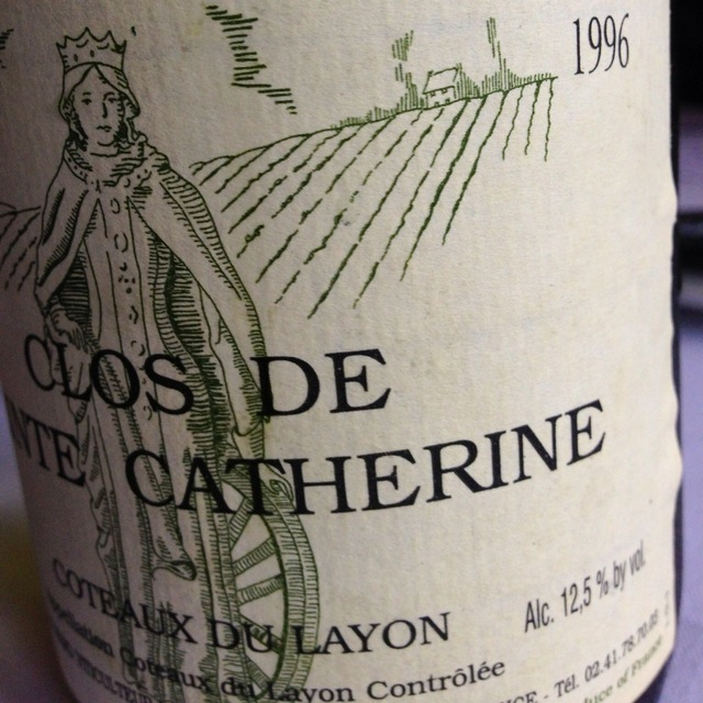 Domaine des Baumard Clos de Sainte Catherine Coteaux du Layon Chenin Blanc 1996